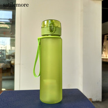 560ML Eco-Friendly  sports Water Bottles Scrub coffee tea milk Space  climbing Hiking Cycling Bottle