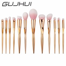 Buy GUJHUI Brand 8/12Pcs Rose Gold Handle Makeup Brushes Set Eyeshadow Contour Powder Soft Make Brush Cosmetic Tool #225247 for $8.49 in AliExpress store