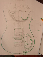 Custom Made guitarra Electric Guitar body Guitar Parts musical instruments can be customized