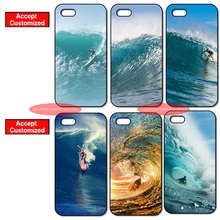 Hot Sale Surfing In Hawaii Ocean Case Cover for Samsung Galaxy Note 3 4 5 8 S3 S4 S5 Mini S6 S7 S8 Edge Plus(China)