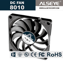 ALSEYE 8010 80mm fan radiator DC 5v 3000RPM exhaust cooling fan for electrical equipment (10 piece)