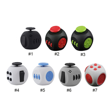 10Pcs Mini 3rd Generation Magic Cube Balls Anti-anxiety Dice Stress Relief Toys For Kids Children Decompression Gifts 7 Colors(China)