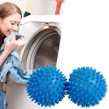 2 pcs Ball Clothes Remover Clean No-Chemicals Washing Decontamination Dryer Balls Perfect Keeping Laundry Soft Fresh 25(China)