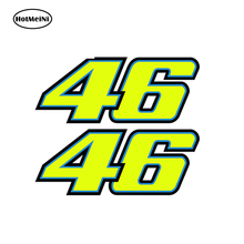 Buy HotMeiNi 18*7.2cm 2xNumber 46 Valentino Rossi Moto GP Car, laptop, motorbike Decal Car Sticker Body Window Vinyl Drift Decal for $1.09 in AliExpress store