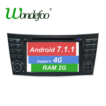 Android 7.1 CAR DVD GPS For Mercedes W211 W219 W463 CLS350 CLS500 CLS55 E200 E220 E240 E270 E280 dvd player stereo RAM 2G radio(China)
