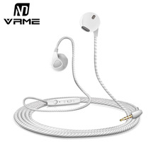 Vrme Sport Earphone Mobile Phone Earphones and Headphone with Microphone 3.5mm jack Stereo Headset Earbuds for Xiaomi iPhone 6 5