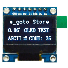 "0.96 inch IIC SPI Serial White OLED Display Module 128X64 I2C LCD Screen Board 0.96"" SSD1306 for Arduino/stm32/51"