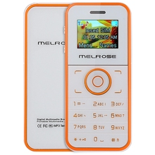 MELROSE M1 1.0 inch OLED Screen Mini Card Cell Phone MP3 Playback Bluetooth FM Sound Recorder Alarm Calculator for Child Student