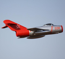 No Battery, RTF RC Plane Mig 15 with 64mm EDF(Hong Kong)