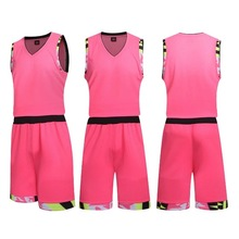 Kid Boys breathable uniforms suits Quick dry basketball training sets custom blank sports college basketball jerseys on sale1046(China)