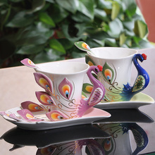 Ceramic crafts creative wedding gift wedding gift Home Decoration celebrate restaurant furnishings home decorations(China)
