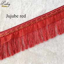 PanlongHome Hot Selling 12 Yards Simple Modern Lace Curtains Accessories Accessories Lace Rope 10cm Long Tassels(China)