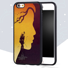 The Hunger Games Printed Mobile Phone Cases Accessories For iPhone 6 6S Plus 7 7 Plus 5 5S 5C SE 4S Soft Rubber Skin Back Cover