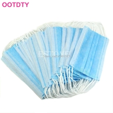 New 50 Pcs Disposable Dental Medical Surgical Dust Ear Loop Face Mouth Mask #Y207E# Hot Sale(China)
