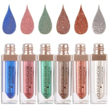 Makeup Glitter Shining Bright Eyeshadow Cosmetic Eyeshadow Eye Shadow Single Color Make Up Pigment(China)