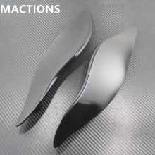 Motorycle Parts Clear Side Wings Windshield Air Deflectors For Harley Touring 2014-2015(China)