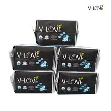 VLOVE Sanitary Napkins with Negative Ion with Wings 290mm 5Packs/set