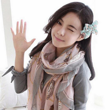 Fashion 170*80cm Women Printed Voile Scarf Shawl Beach Long Scarf Wrap Large Shawl Scarves Women Accessories Female Gifts(China)