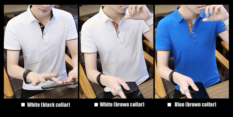 SD Polo Shirts Men 2018 New Arrivals Casual Male Polo Shirts Breathable Cotton Tops High Quality Solid camisa Polos Homme 413 12