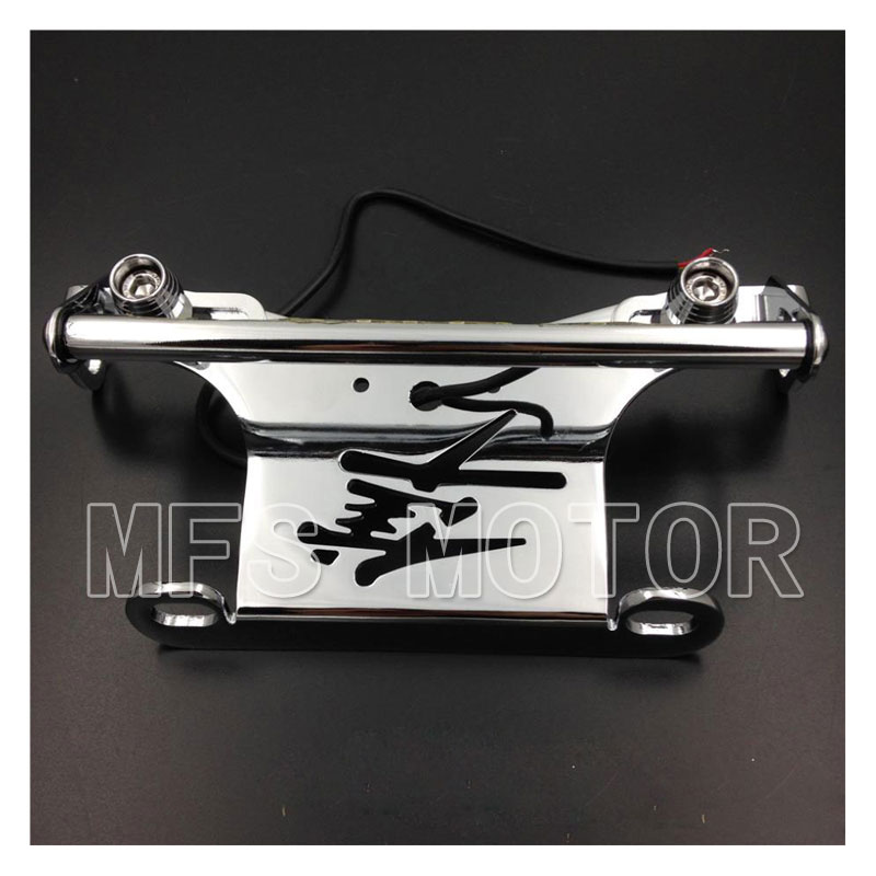 Motorcycle Part LED Light Fender Eliminator For Suzuki GSX 1300R Hayabusa  2008 2009 GSXR motor Chrome<br>