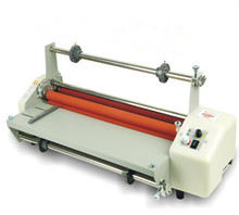 "8350T A3 13"" Thermal Hot Cold Laminating Machine Mounting Roll Laminator + 2 Rolls Bopp 200M Film(China)"