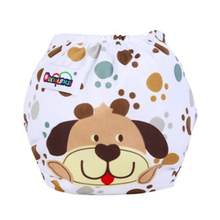 QianQuHui Baby Diaper Washable Reusable nappies changing training pant happy cloth diaper NB031 Dog 01 Suit for winter(China)