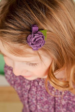 Felt Bow  Flower  Hair Clip  Boutique Hairpins With Flower  hair accessories