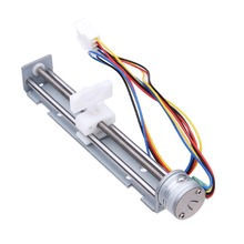 18 Degree Step Angle Stepper Motor Screw With Nut Slider + 2 Phase 4 Wire of DC 4-9V/500mA  Driving Voltage
