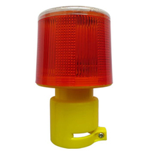 Solar Powered Traffic Light Safety Signal Beacon Alarm Lamp Solar Emergency LED Strobe Warning Light