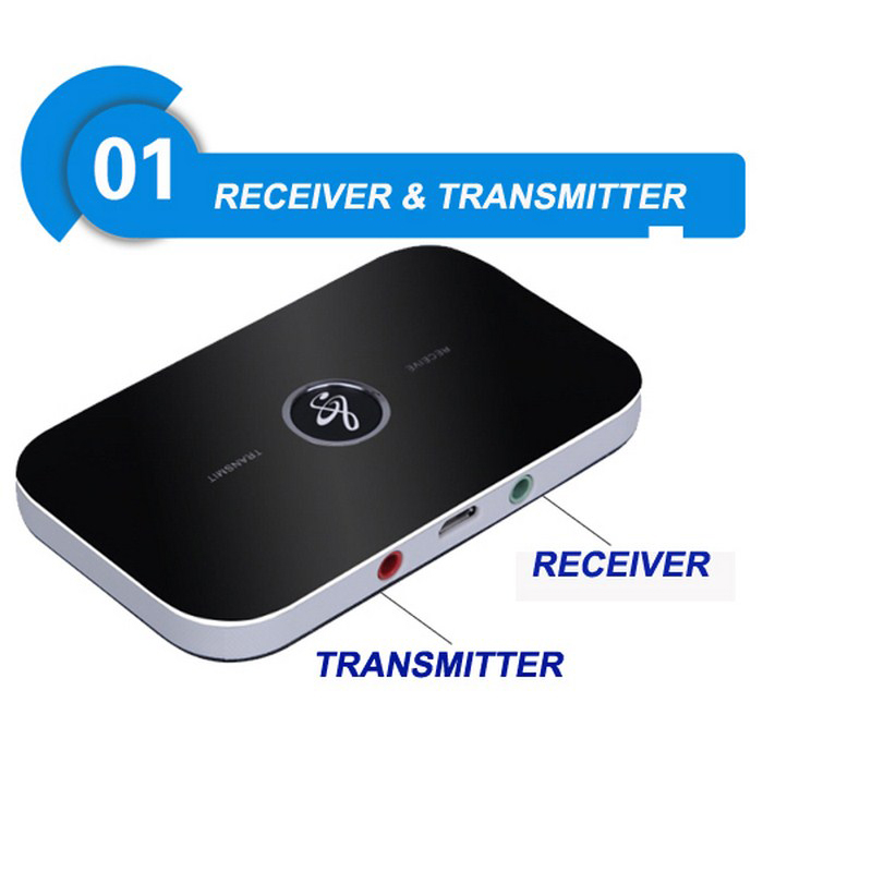 B6 bluetooth wireless audio receiver and transmitter 2in1 adapter 6