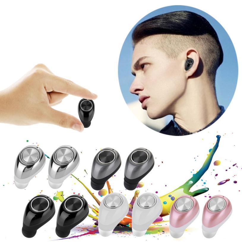 Mini TWS Twins Wireless Bluetooth Stereo Headset In-Ear Earphones Earbuds For iPhone<br><br>Aliexpress