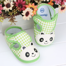 Fabric Baby Booties Girl Boy Shoes First Walkers Items Polo Schoenen Toddler Moccasins Crib Baby Shoes Foorwear 703051(China)