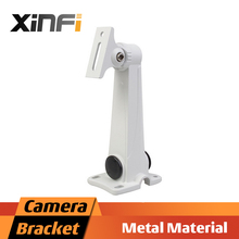 XinFi High quality Metal material bracket for Bullet Camera Indoor/Outdoor Wall Mount Aluminium alloy Bracket CCTV Accessories(China)