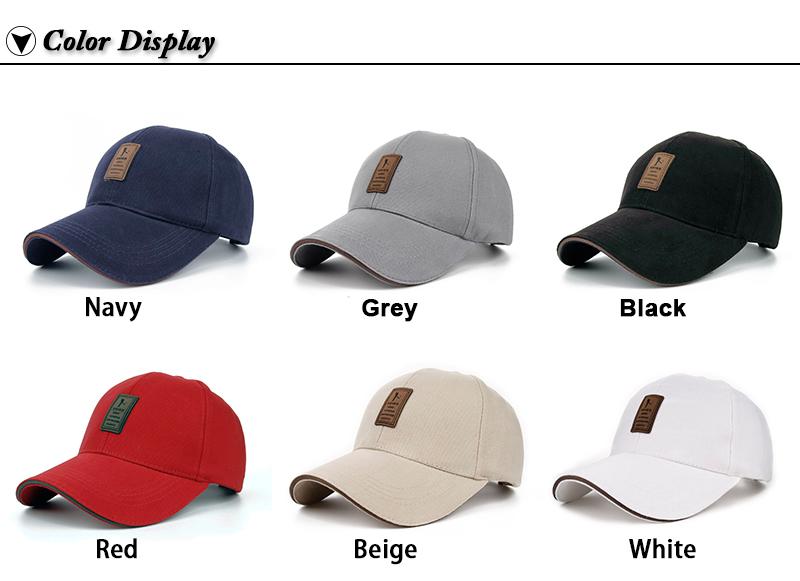 Golfer Emblem Baseball Cap - Available Colors