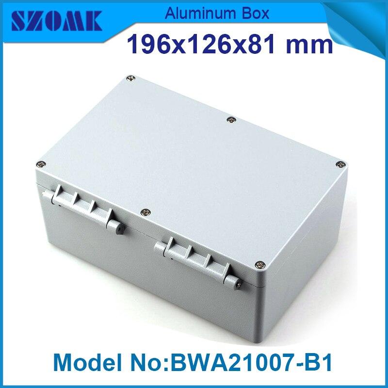 1 piece diy aluminum enclosure waterproof or weatherproof case housing electronics 72.5x115x184.83mm<br><br>Aliexpress