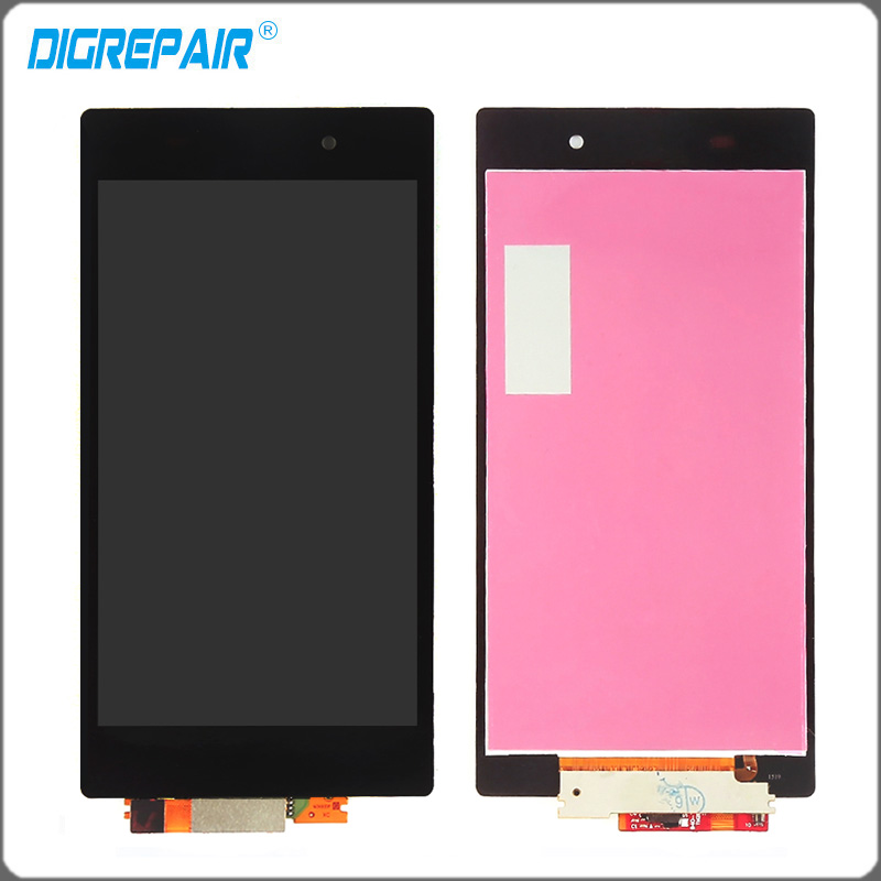 Tested Black Sony Xperia Z1 L39H L39 C6902 C6903 LCD Display Monitor Panel Touch Screen Digitizer Front Glass Assembly parts