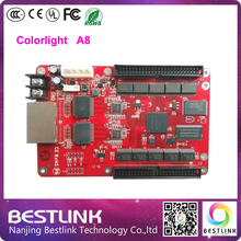 Asynchronous controller card Colorlight A8 LED Full color RGB Control card 256*256 Pixel for p10 p16 outdoor led display screen