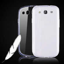 "Ultra Thin Crystal Transparent Clear For Samsung Galaxy S3 SIII I9300/S3 Duos i9300i / S3 Neo i9301 4.8"" Phone Case TPU Cover"