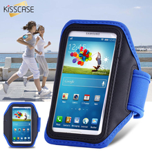 KISSCASE Sports Running Arm Band Case For Samsung Galaxy S3 S4 S5 S6 Capa Phone Holder Pouch Belt Cover Arm Bag GYM Shell(China)