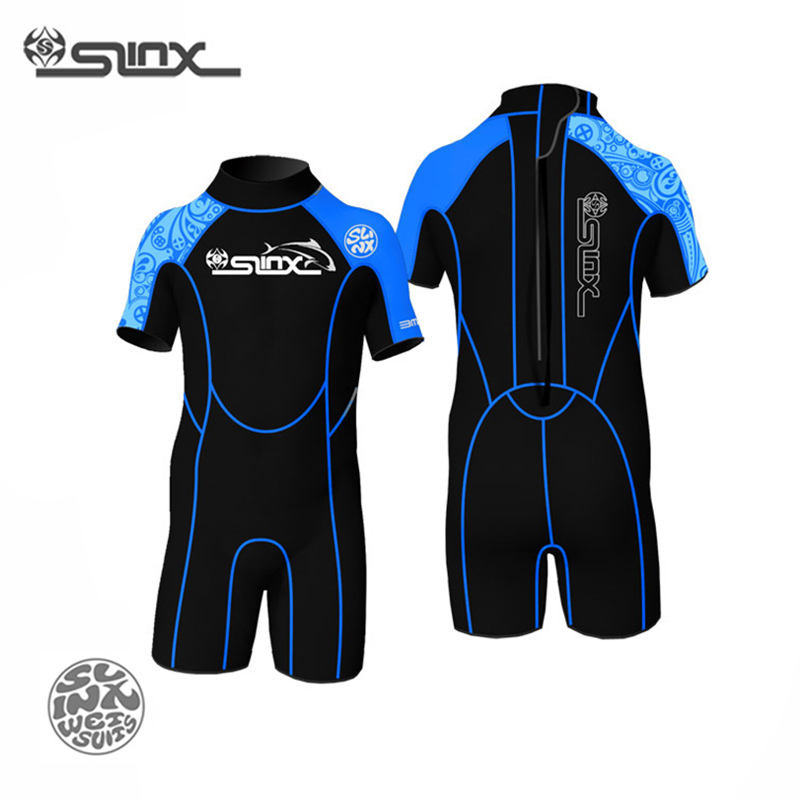 SLINX 1302 2mm Neoprene Children Scuba Diving Suit Swimming Swimwear Kite Surfing Water Sports Snorkeling Boating Kids Wetsuit<br>