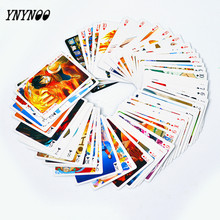 YNYNOO 54 pcs/pack Anime One Piece&Hatsune&Naruto&Grim Reaper Collection Poker Cards Playing Cards Cosplay Board Game Cards