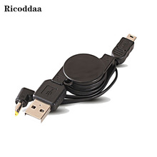 2 in 1 USB Charge Cable For SONY PSP 1000 2000 3000 USB Charger Charging Data Transfer Cable For PSP 2000 3000(China)