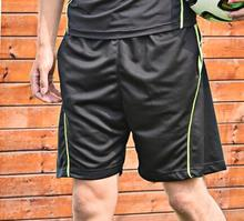 Summer Men's Football Training Pants Quick-Dry Fitness Running Short Pants Breathable Outdoor Exercise Pants