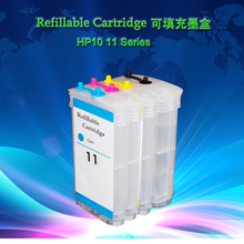 H10 11 Big Refillable ink cartridge for Designjet 70/100/110  Pro K850 cp1700 Officejet 9110/9120/9130,Business Inkjet 1000 etc.