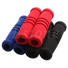 1 Pair MTB Bike Bicycle Handle Handlebar Soft Durable Sponge Bar Grip Covers 2017 New Arrived High Quality(China)