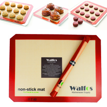 WALFOS  Hot Sale Pyramid Bakeware Pan Nonstick Silicone Baking Mat Pads Method for Oven Baking Tray Sheet Kitchen Tools 52037