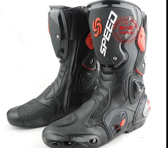 2016 Time-limited Ship Motorcycle Boots Speed Bikers Racing Boots,motocross Boots,motorbike Size: 40/41/42/43/44/45 [3 Colors]<br><br>Aliexpress
