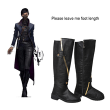 Buy Dishonored 2 Cosplay Boots Emily Kaldwin Cosplay Shoes Halloween Props Anime Game Costume Accessories Carnival Adult Women for $48.23 in AliExpress store