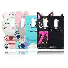 For Huawei GR5 2017 Case Beard Cat Sulley Judy Stitch Soft Rubber Mobile Phone Cover Cases For Huawei Mate 9 Lite / Honor 6X