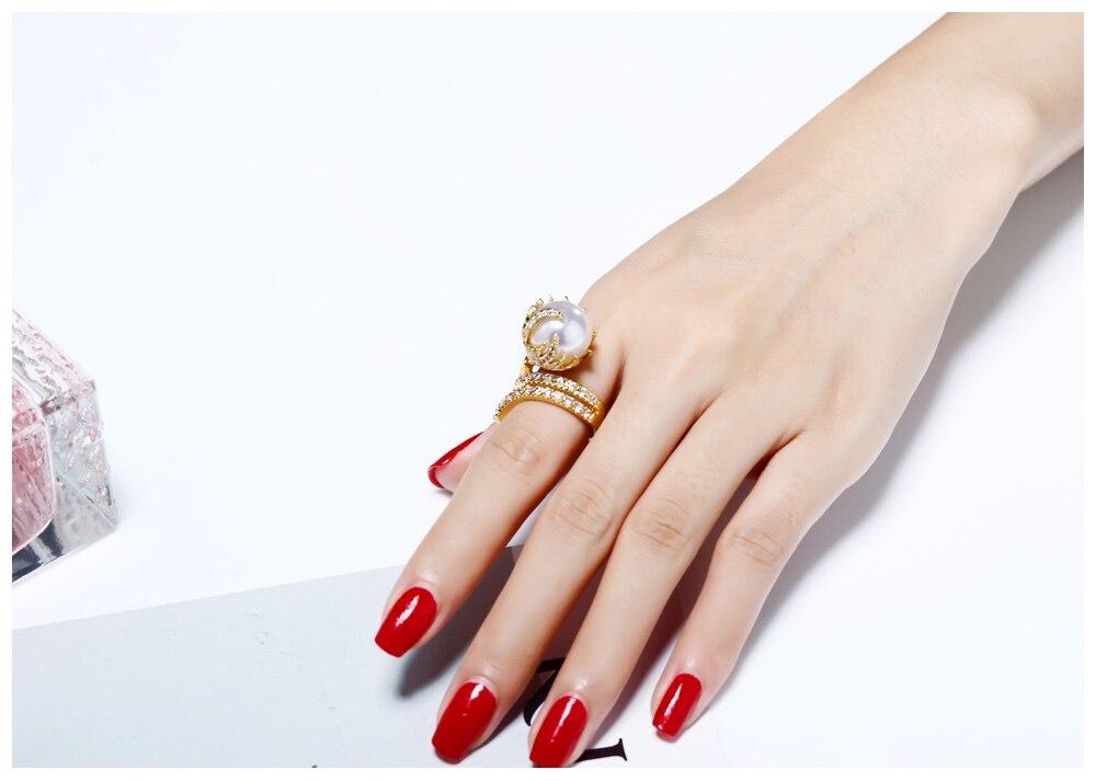 pearl rings 11